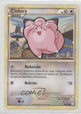2010 Pokémon HeartGold & SoulSilver Base Set Spanish #60 Clefairy Card 2f4
