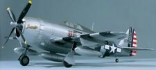 """TOP FLITE ** P-47D Razorback Plans, Manual, & Decals COMBO 60 SCALE 63"""" Wingspan"""
