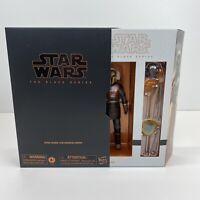 Star Wars The Black Series Mandalorian The Armorer Deluxe Figure MOC Hasbro