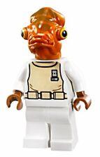 NEW LEGO STAR WARS ADMIRAL ACKBAR MINIFIG figure minifigure 70503 7754 calamari