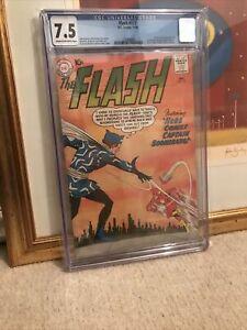 The Flash #117 - DC 1960 - First Captain Boomerang CGC 7.5