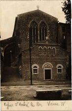 CPA carte photo VIENNE - Église St-André-le-Bas (213487)