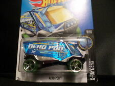 HW HOT WHEELS 2016 HW X-RAYCERS #9/10 AERO POD HOTWHEELS BLUE VHTF