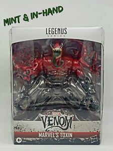 Marvel Legends Toxin Deluxe Brand New SEALED Hasbro Venom Spider-Man *MINT BOX