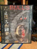 MICHAEL JORDAN'S LAST SHOT Chicago Bulls vs. Utah 1998 NBA Championship FRAMED