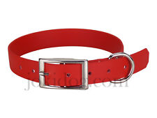 Collier biothane beta 25 mm x 55 cm Rouge - jokidog