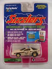 Camaro Highway Patrol White Police Car 1996 Playing Mantis Sizzlers Emblem New