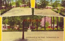 1957 WOODLAND IN THE PINES - on U S 19 THOMASVILLE, GA. - Owner, L L Saunders