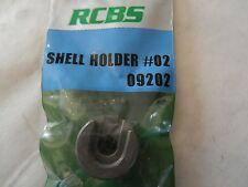 *NEW;  RCBS Shell Holder #02;  09202;  25-25 Win, 6.5x55 Swedish, 30-30, 32 W.S.