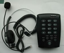 Monaural Headset Feature Telephone with Mute Redial For call center Small office
