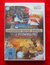 Arcade Hits Pack Gunblade NY L.A. Machineguns, Nintendo Wii Spiel, Neu
