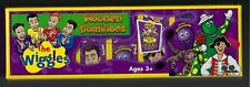 The Wiggles Wooden Dominoes The Original Four Wiggles New Unopened Licensed