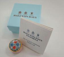 Halcyon Days Enamel Mini Year Box 2013 with box and Coa New Mint