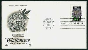 #2674 29c Passionflower, Art Craft-PCS FDC ANY 5=
