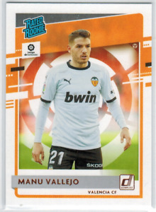 2020-21 Panini Chronicles Soccer Donruss Rated Rookie Manu Vallejo