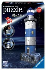 Ravensburger 12577 - 3d Puzzle Lighthouse by Night LED