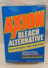 vintage Axion laundry powder full Box unopened Colgate