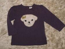 H&M Langarm Mädchen-Tops, - T-Shirts & -Blusen mit Motiv