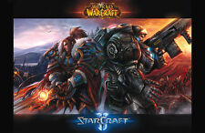"World of Warcraft video game poster 11x17"" Starcraft"