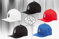 New Volcom Full Stone Mens XFit Flex Fit Cap Hat