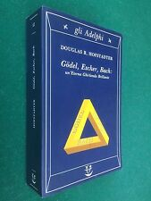 HOFSTADTER - GODEL ESCHER BACH UN'ETERNA GHIRLANDA , Gli Adelphi/12 (1990) Libro