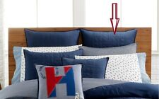"Tommy Hilfiger Academy Navy Bedding EURO Pillow Sham 26"" x 26"""