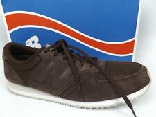 NEW BALANCE Classic Mens U420BRN Lifestyle Sneakers Brown Suede SZ 12.0 M, 17197