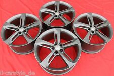 4 Audi Original Felgen 21 ZOLL  A6 A7 RS7 4G8601025 AN Titan Matt 377F
