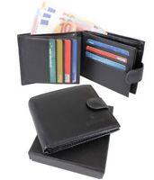 Portefeuille HOMME Porte-monnaie Porte-cartes avec boîte