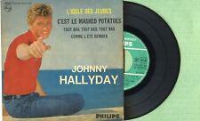 JOHNNY HALLYDAY L'idole des jeunes PHILIPS 432810 BE Pressing France 1962 EP VG+