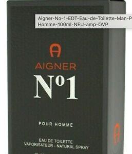 Aigner No 1 EDT Eau de Toilette Man Pour Homme 50ml NEU & OVP