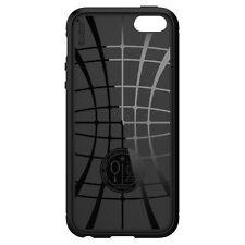 Spigen Outlet Apple iPhone SE 5s 5 Rugged Armor Black Shockproof Cover Case