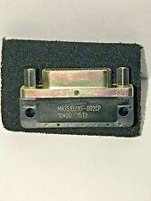 GLENAIR D-SUB MIL SPEC CONNECTOR M83513/10-D02CP MALE 25 POSITION MICRO