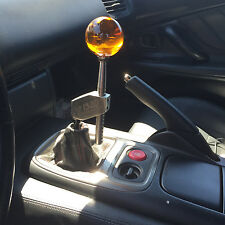 Adjustable shifter extender & Dragon Ball Z shift knob  10x1.25 Stainless steel