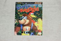 Banjo Kazooie N64 Player's Guide from Nintendo Power (Official Nintendo) - GOOD