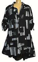 TS top TAKING SHAPE plus sz XL / 24 Across The Line Shirt flattering NWT rrp$150