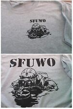 Combat Diver SFUWO Special Forces T-SHIRT Medium Military Collectible
