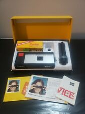 Vintage KODAK Pocket Instamatic 20 Camera Outfit with Color Film, Flash Extender