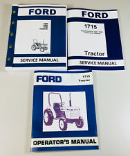 Heavy equipment manuals books for ford for sale ebay ford 1715 tractor service repair manual set owners operators shop technical fandeluxe Images