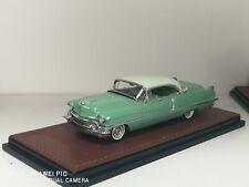 1956 Cadillac Sedan deVille 1/43 GLM resin n Neo Brooklin 2 tone green Ltd 50