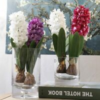 1PC Artificial Flower Hyacinth with Bulb Home Garden Wedding Party Decoration