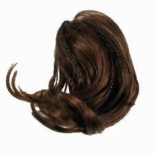 Hair Piece Extension Bun Auburn Synthetic Elasticated Band Curly Fashion