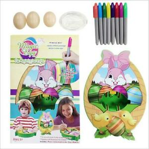 Egg Eggmazing Decorator 8pcs Non Toxic Markers Easter Egg DIY Set & Music Light