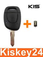 Schlüssel Gehäuse Rohling für RENAULT Megane Scenic Clio Kangoo Laguna+ 1xTaster