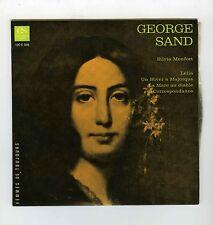 GEORGE SAND PAR  SILVIA MONFORT (ENCYCLOPEDIE SONORE)