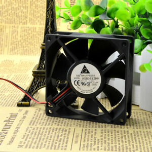 1pc Delta ASB0812HH 8025 8CM 12V 0.30A Ultra-quiet Chassis Cooling Fan