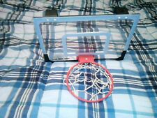 Sklz over the door basketball hoop, slightly used but in very good condition.