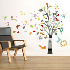 Walplus Gwen Colourful Photo Number Wall Sticker Art Decal Home Decorations