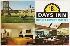 Days Inn Multiview McDonough Georgia Postcard Budget Luxury Motels