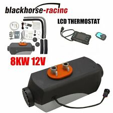 12V 8KW Diesel Air Heater w/LCD Monitor Switch For Truck Car Boat Trailer US
